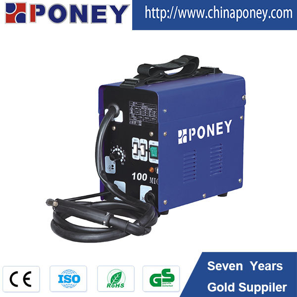 portable AC current flux cored gasless MIG welding machines MIG130