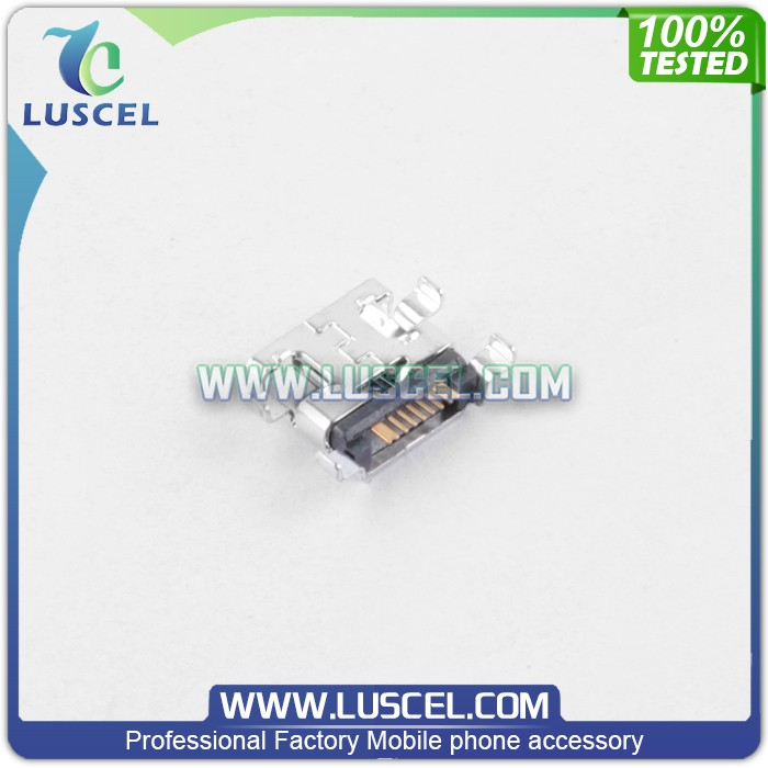 Mobile phone spare parts Charging connector for Samsung Galaxy S Duos/S7562/S7560