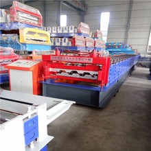 Whole Line Automatic Metal Steel Floor Decking Tile Roll Forming Machine