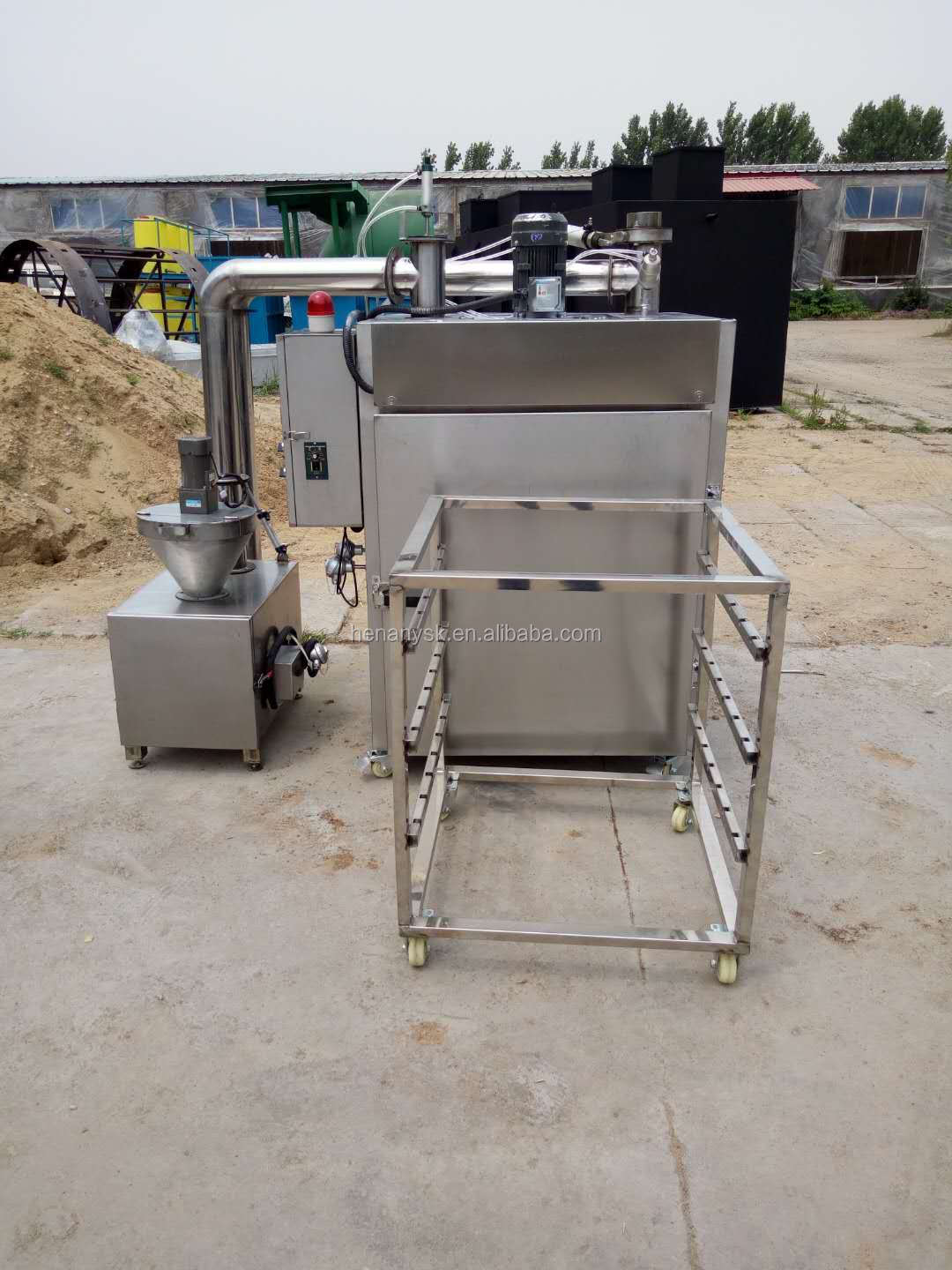 2018 New Sausage Processing Meat Steaming Drying Smoking Smoker Oven House for Meat Products