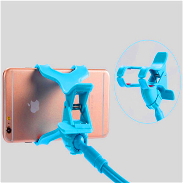 Novelty Plastic Mini Finger Grip Flexible Hand Cell Phone Holder in china