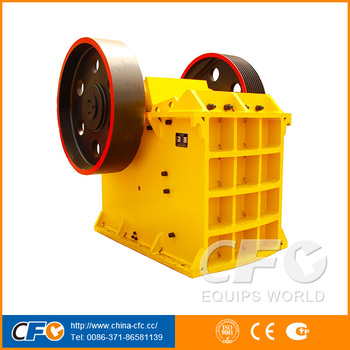 High Capacity AC Motor Concrete Jaw Crusher Manufacturer in Singapore