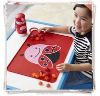 Table mat type baby kids silicone placemat