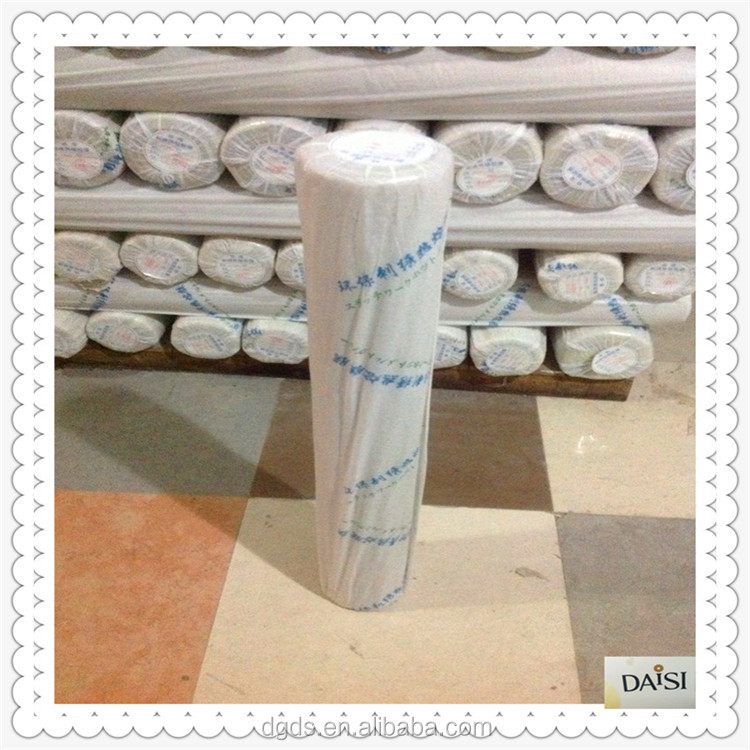 nonwoven interlining thermal glue PE hot melt adhesive film for garment embroidery interlining fabric rolls China supplier