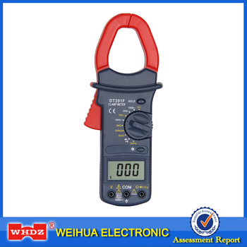 High voltage clamp meter DT201F with Frequency measurement