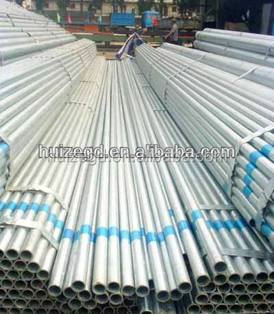 hot dipped galvanized round steel tubes/pipes for building material