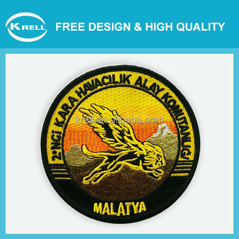 2015 animal series embroidery design patches wholesale