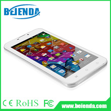 6 inch android phone tablet MTK8382 quad core, IPS display 960x540 pixels, dual camera, 3g calling, FM, Bluetooth, GPS