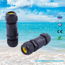 GREENWAY wholesale ip68 waterproof cable connector for underwater light