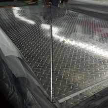 5 bars diamond pattern chequer plate sheet aluminum trailer decking