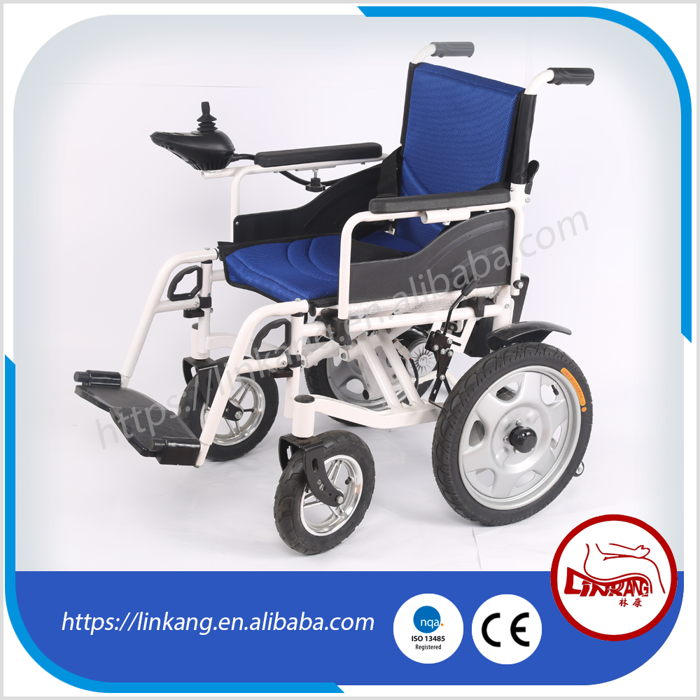 2017 new Foldable electric lightweight power Wheelchair electric wheelchair