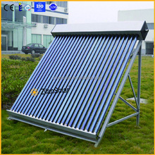 Pressurized solar energy thermo-syphon system for wall mounted solar collector