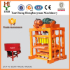 Small scale industries QT4-40 manual paving stone tiger at6 cement block making machine in nigeria