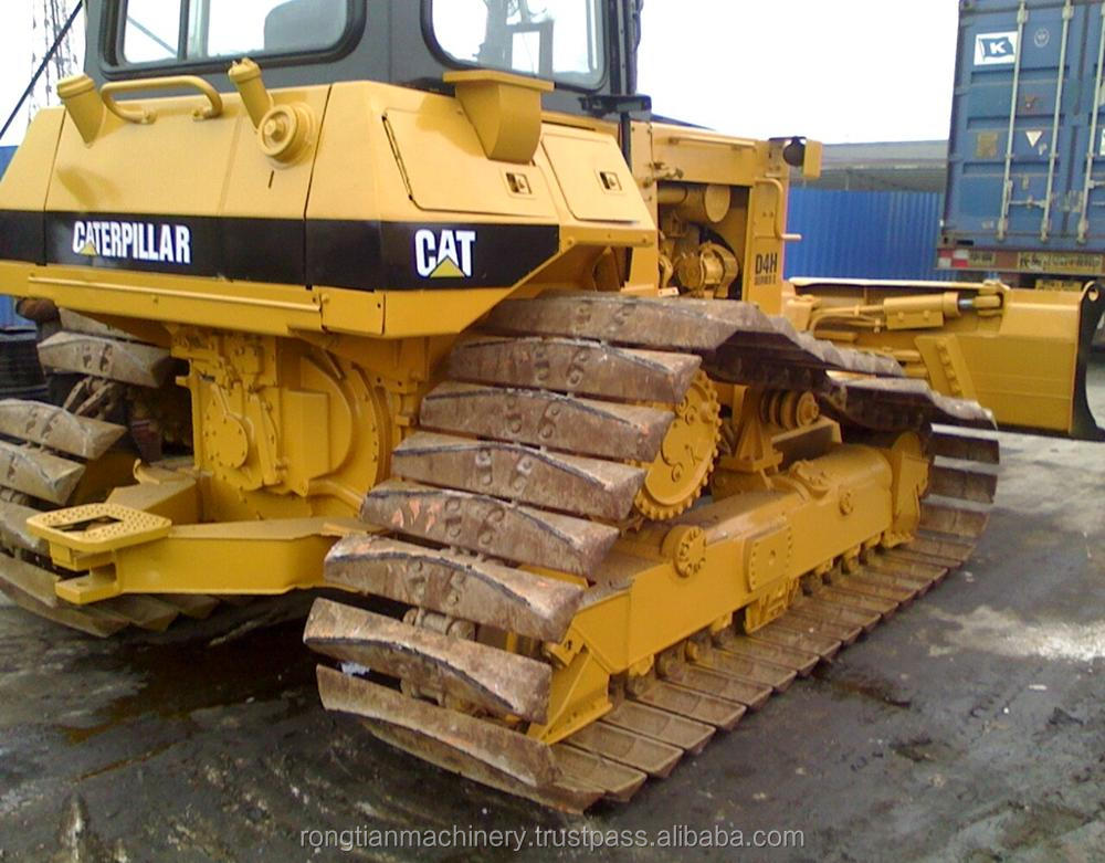 Good quality used caterpillar bulldozer D4H for sale/ cat dozer with low price