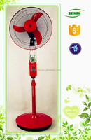 Electria appliance hot sale 16/18inch fan 12v copper dc motor 16'' stand fan home fan