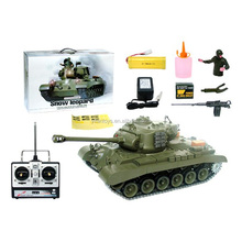 RC Tank for sale 3838-1 1:16 RC Tank Snow Leopard USA M26, with smoking lights and engin sound