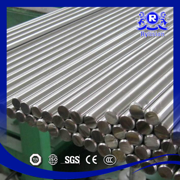 SGS Certification ASTM Ss201 202 304 316L 321 304L 410 430 Stainless Steel Round Bar Finish Polished