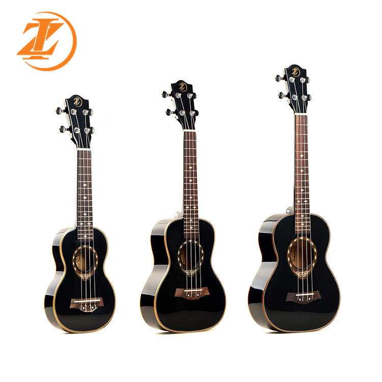 Wholesale ukulele la03/ukulele thin body high gloss/spruce top ukulele mini guitar china