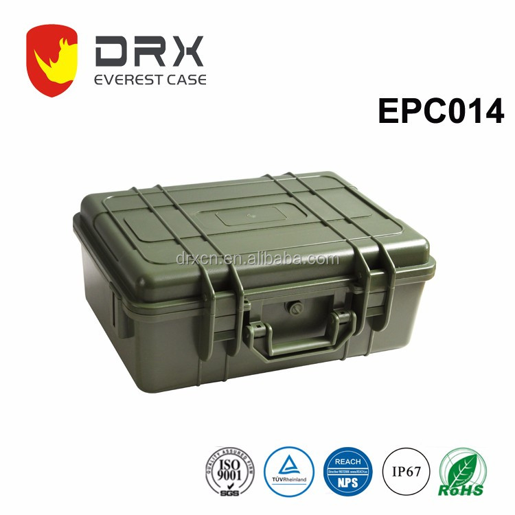 Everest EPC014 Hard Plastic Waterproof Equipment Tool Carrying ammo rugged Case