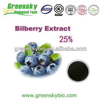High Quality Bilberry Extract Powder