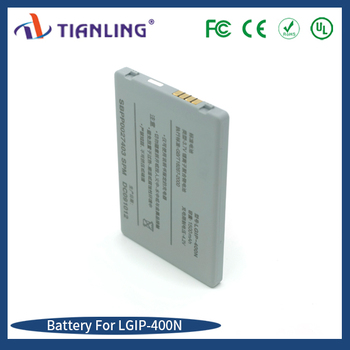 selling rechargeable battery 3.7V 1500mah lithium ion battery LGIP-400N for LG