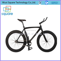 New style black single speed fixed gear bike bicycle 700c
