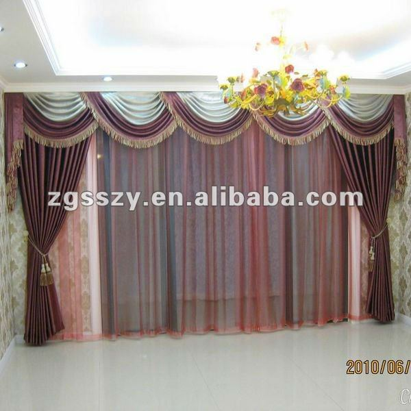 New Curtain Modern Design of Custom Made Curtain