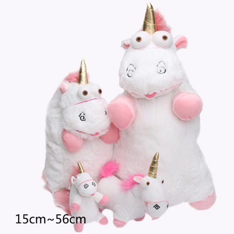 Unique animal gifts PP cotton filing custom cute white pink stuff plush soft toy unicorn