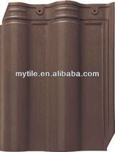 Coffee Color Glazed Roof Tiles Clay Tiles from Manufacturer