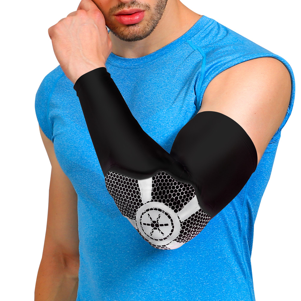 The hot selling adjustable Arm sleeve brace basketball Arm sleeve support for running