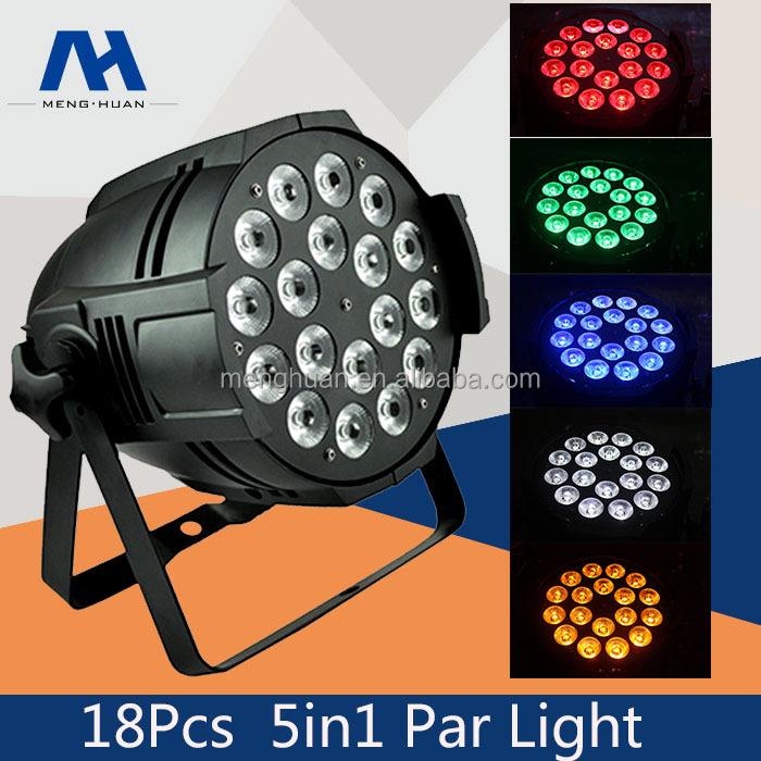 led 18pcs 15W 18x15W 5-in-1 RGBWA wash par led stage light