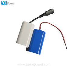 battery 18650 2P1S 3.7V 3600mAh lithium polymer battery