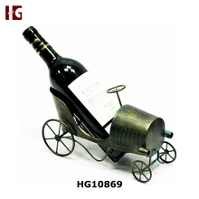 Whimsical Antique Car Wine Bottle Holder