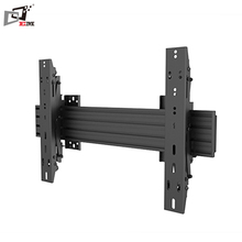 Micro Adjustable Landscape Or Portrait Installation 40 Inch TV Wall Bracket With Aluminum Mounting Rails