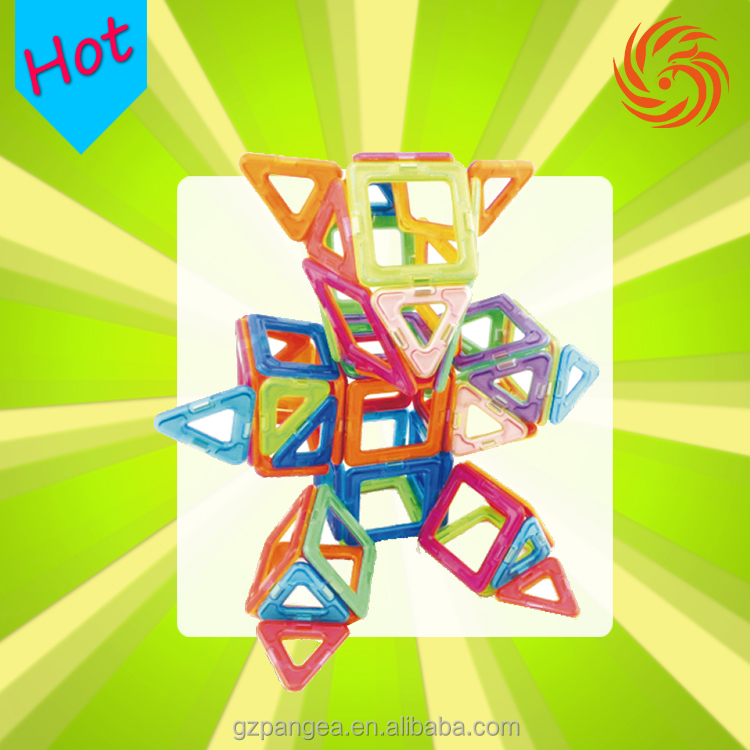 Magnetic ABS Plastic Building Blocks Sets for kids gift magnetic tiles toys