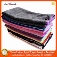 2016 new Style 100% microfiber super Absorbent sweat Pure Colour Golf Towel