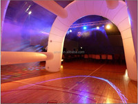 white lighting decoration tent Inflatable Arch for event