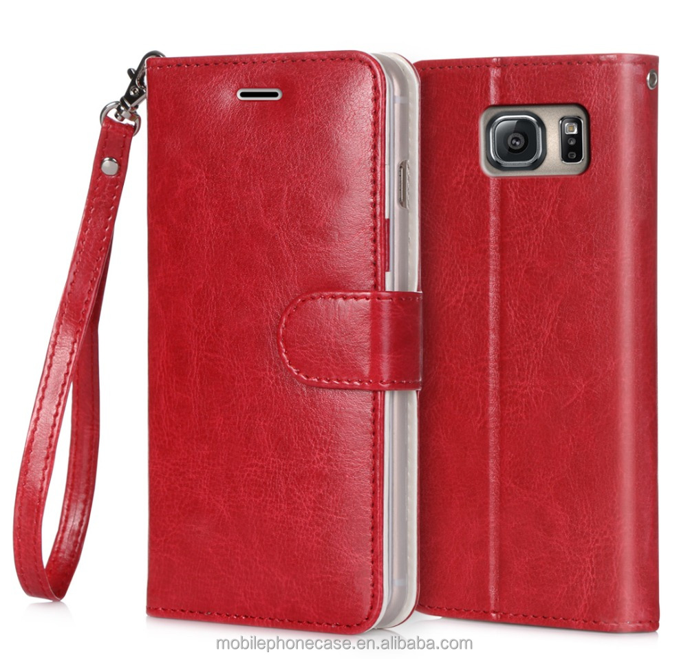 For Samsung Compatiable Accessories Luxury Premium Book Side Folio PU Phone Case For Samsung Galaxy Note 5