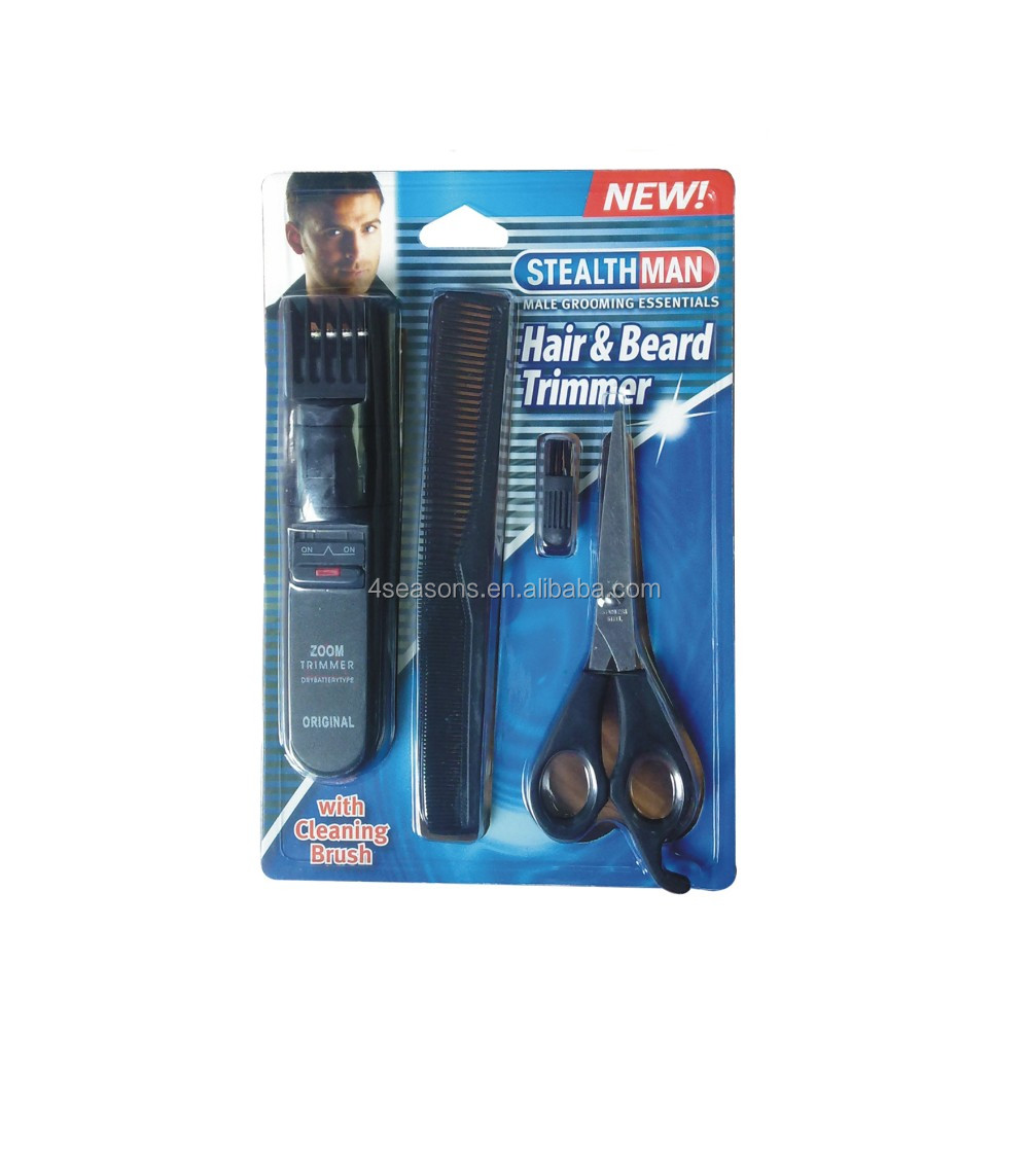 Electric Hair And Beard Trimmer Set