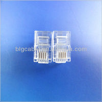 Smart Rj11 connector for telephone cable