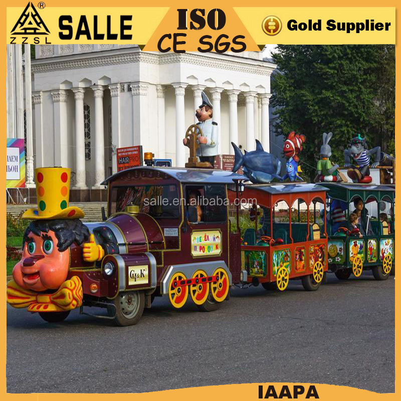 luna park equipment train for amusement park theme park rides for sale