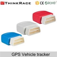 Professional obd2 gps tracker with geo fence Thinkrace vehicle tracker VT200 made in china