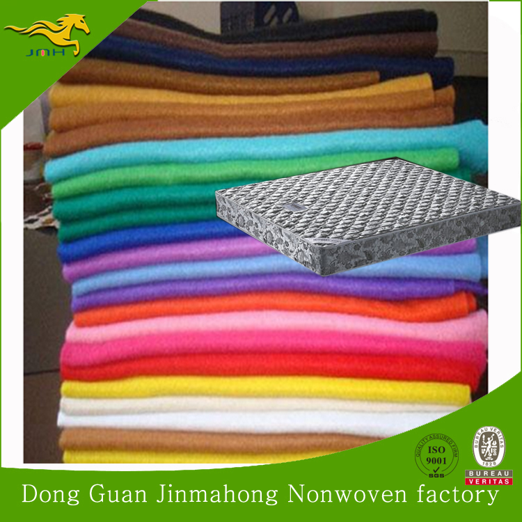 100% polyester needle punched felt nonwoven fabric for furniture mattress