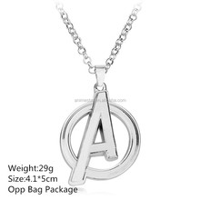 Beautiful 4.1*5CM Marvel's The Avengers Alloy Collar New Arrivals Cosplay Anime Necklace 10pcs per set