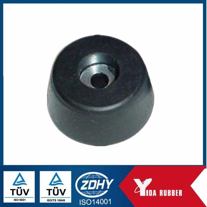 Threaded Rubber Inserts/Metal Insert Rubber Thread/Rubber Parts With Thread Iinsert