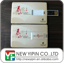 Hot Sell Fashion Business Credit Card USB Flash Drive