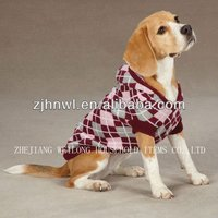 argyle dog sweater/pet clothes