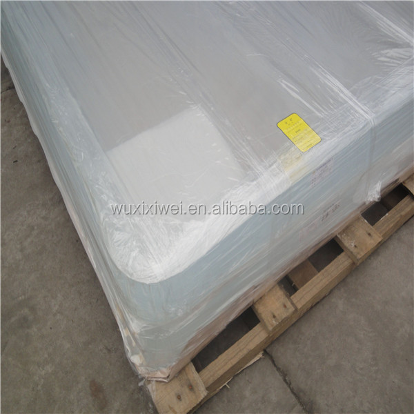Different thickness pmma plexiglass transparent perspex extruded clear cast acrylic sheet