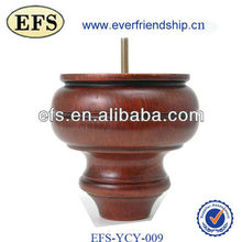 antique turned wood furniture legs(EFS-YCY-009)