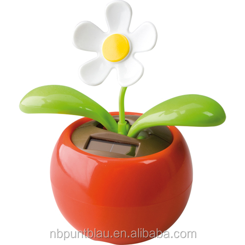 solar power plastic dancing flower solar toy
